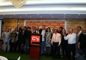 Cena Presentación Candidatura Municipales #CsTerrassa2015