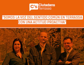 Ciutadans facilitará que Terrassa tenga los mejores presupuestos de los últimos seis años