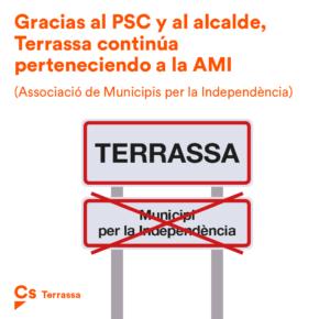 """""""Terrassa, dos años como ciudad independentista gracias al PSC y al alcalde"""""""