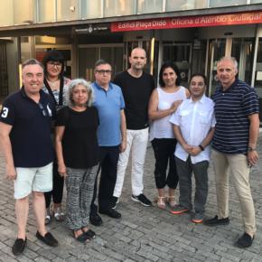 La renovada Junta Directiva de la Agrupación Cs Terrassa celebra su primera reunión de trabajo
