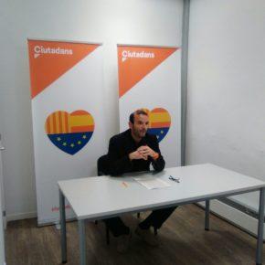 """Javier González (Cs): """"Els partits separatistes no van voler condemnar la violència al Parlament, però ara tenen l'oportunitat de fer-ho a Terrassa"""""""