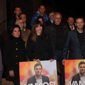 Ciudadanos (Cs) Terrassa arranca la campaña electoral en la plaza de Ca n'Anglada